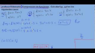 composición 03 de funciones
