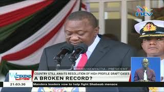 President Uhuru Kenyatta announces a fresh round vetting lifestyle audit