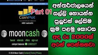 How To Make Money On Internet | Easy Ways | Part 01 | Bitcoin Sinhalen