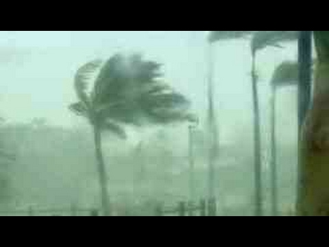 Cyclone Cook hit New Zealand's mainland - Raw Video