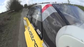 Walter Röhrl im Audi S1 WP1 Stormarn Rallye 2015