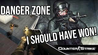 I SHOULD HAVE WON THAT GAME! | Counter Strike Global Offensive Danger Zone Gameplay (Rage Included)