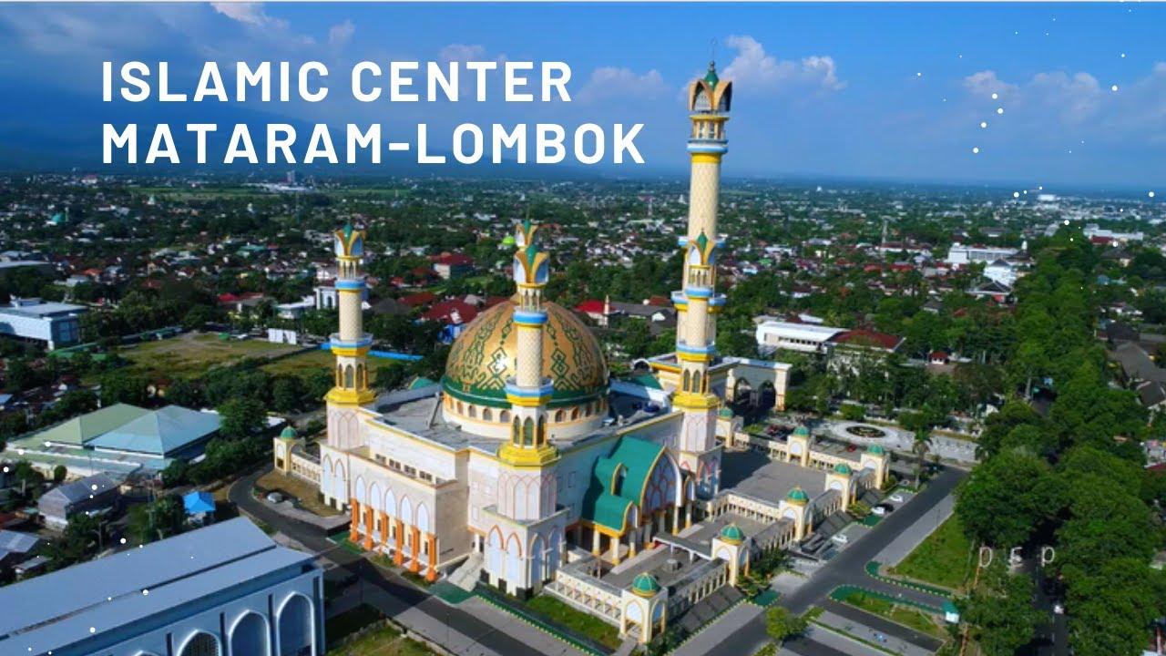 Masjid Hubbul Wathan Islamic Center Mataram Ntb Gambar Diambil
