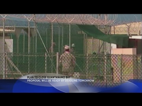 Pentagon poised to submit plan for closing Guantanamo Bay