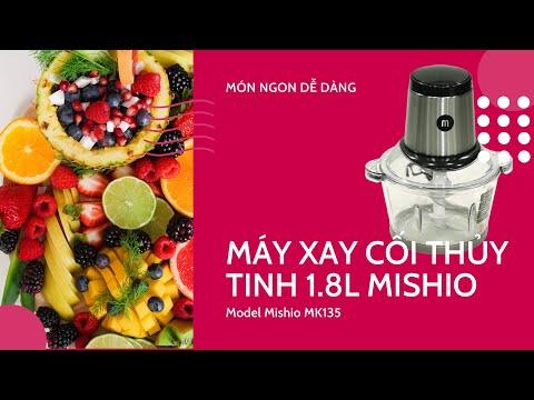 Máy xay thịt đa năng Mishio MK-135 1,8L