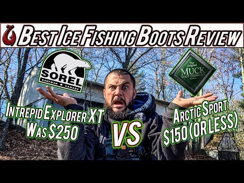 Muck Boot Arctic Sport VS Sorel Intrepid Explorer XT REVIEW (Best Ice Fishing Boots On The Market?)
