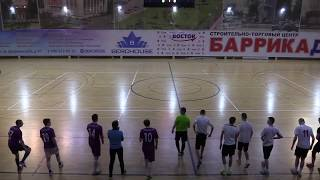Мини футбол 2020 Первая лига ФФОЗ 9 ТУР Луч Респиратор 5 0 полный матч