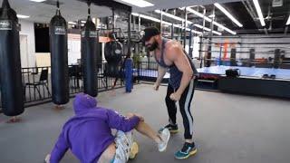 Bradley Martyn Fighting SteveWillDoIt Compilation