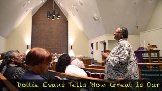 Dottie Evans--Hopewell Ministry News, Salters, Williamsburg Cty SC