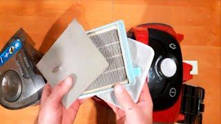Чистка пылесоса. простая чистка фильтра пылесоса.