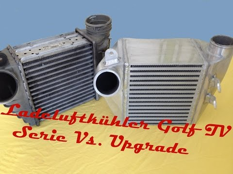 Ladeluftkühler Golf 4 1.9TDI/ 1.8T Serie VS. Upgrade