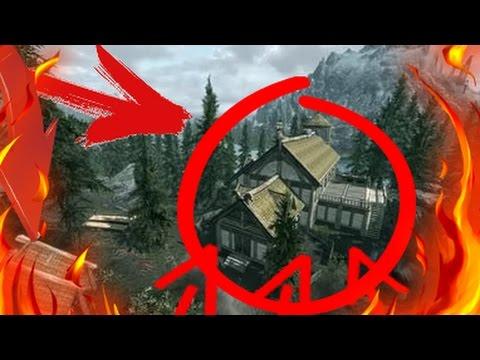 """Как установить дополнение """"Hearthfire"""" на стройку дома в Skyrim"""