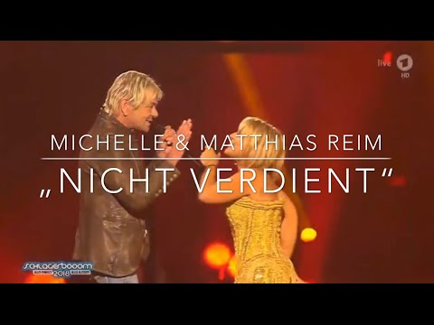"""Michelle & Matthias Reim - """"Nicht verdient"""" (Schlagerboom 2018 - Alles funkelt! Alles glitzert!)"""