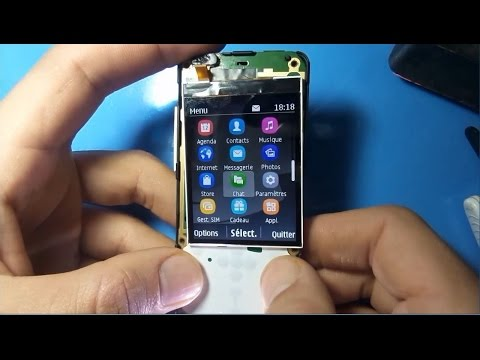 طريقة اصلاح عطل الاضاءة نوكيا Nokia 206 Lcd Light Ways