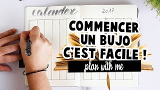 Commencer un Bullet journal facilement !⎮ Plan with me ! ✒️📖