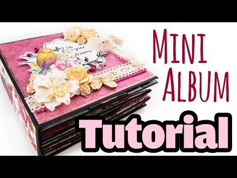 [Scrapbook Tutorial] Mini-Album