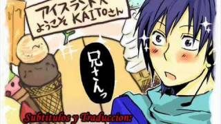 Kaito - AISU ga MERUTO (My Icecream is Melting) sub español + MP3