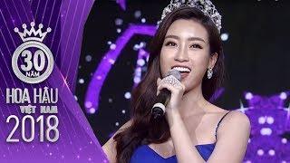 Hoa hậu Đỗ Mỹ Linh chinh phục khán giả bằng giọng ca trong sáng mượt mà | Hoa Hậu Việt Nam 2018