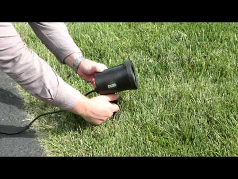 StarNight Magic Outdoor/Indoor Dancing Dual Laser Light Projector on QVC