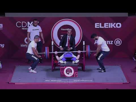 Men's Up to 59kg | Mexico City 2017 World Para Powerlifting Championships