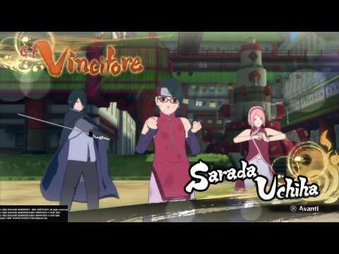 NARUTO STORM 4 ROAD TO BORUTO - Uchiha Family Vs Uzumaki Family