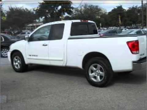2007 Nissan Titan King Cab   San Antonio TX