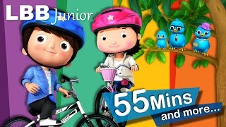 Riding A Bike Song | And Lots More Original Songs | From LBB Junior!