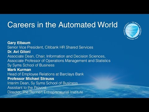 YU and the World of Tomorrow: Careers in the Automated World