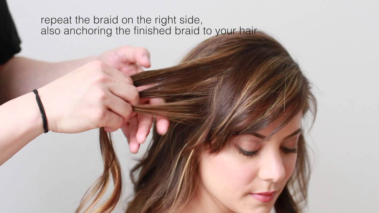 5 quick & easy bridesmaid hairstyles - #4 the princess braid