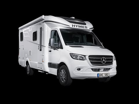 The integrated and semi integrated Hymer B Class 580 motorhome