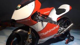 2016 Auto Expo_ Mahindra MGP30 race bike first look