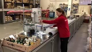 Nejmodernější šicí stroj na markýzovou látku