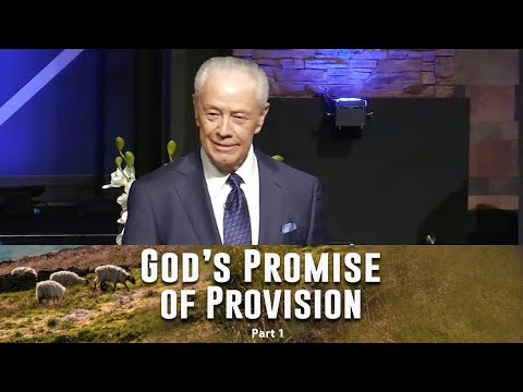 God's Promise of Provision, Part 1
