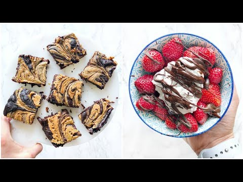 HEALTHY DESSERT RECIPES! Easy & Simple Healthy Desserts!