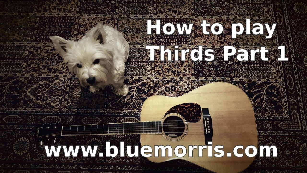 Video guitar lesson: How to Play Thirds