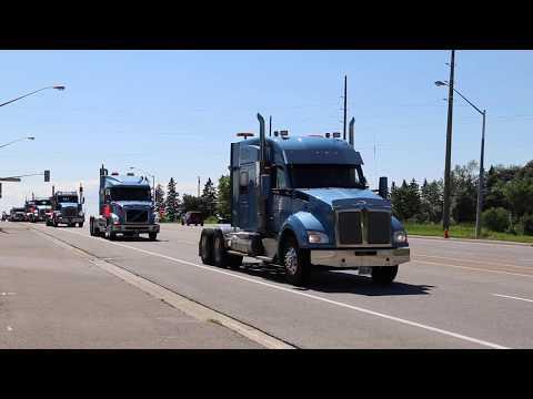 Don Anderson Truck Procession