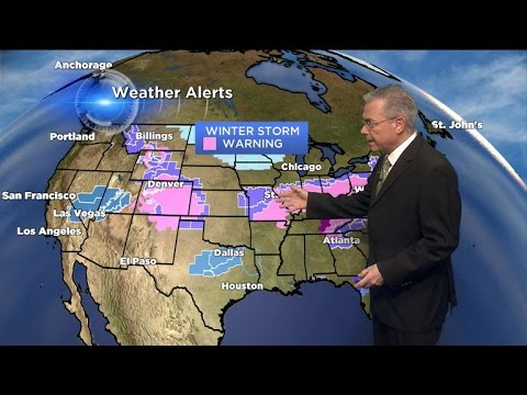 Latest round of deadly winter weather heads toward U.S.