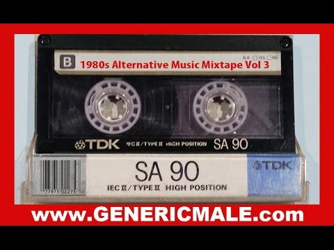 80s New Wave / Alternative Songs Mixtape Volume 3 Revised