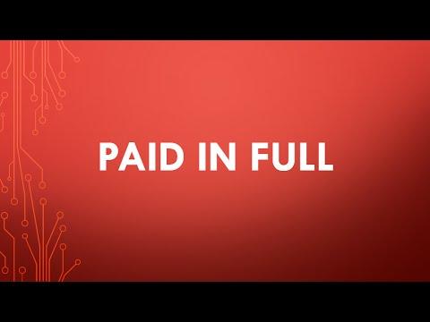 paid in full -vocals