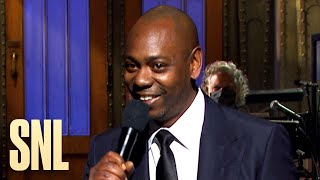 Dave Chappelle Stand-Up Monologue - SNL