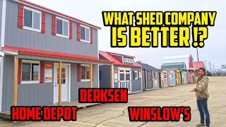Shed to house - Which shed company is better?