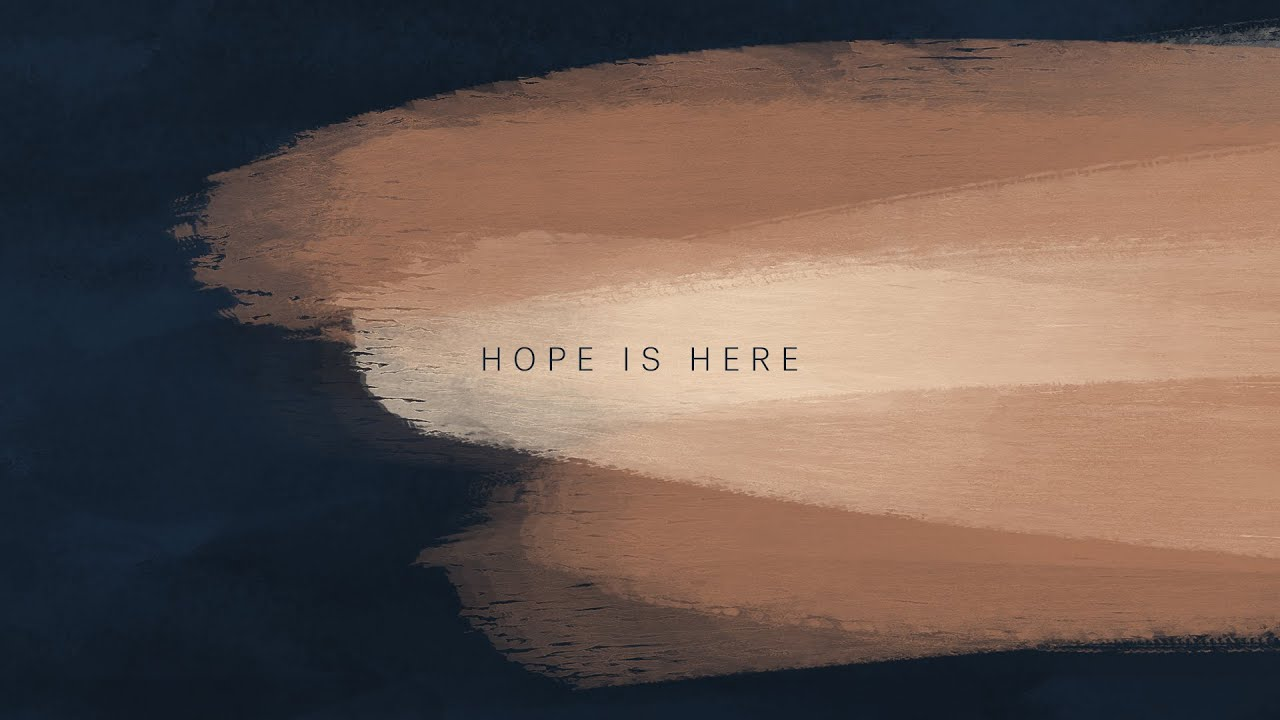 Hope Is Here Lyric Video - We Are Emmanuel Cover Image