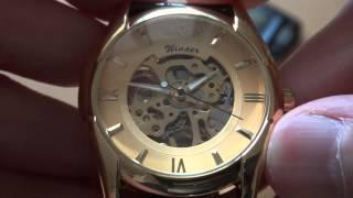 Китайские наручные часы Winner Skeleton Sport