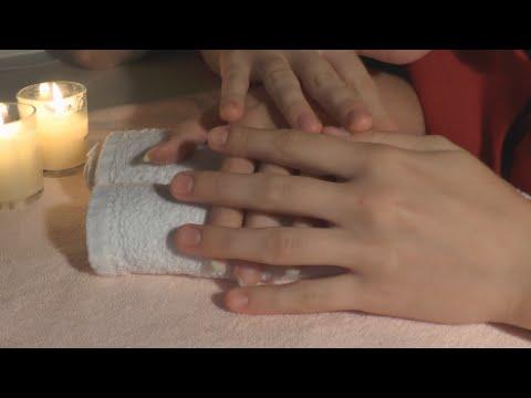 Массаж рук нежный видео