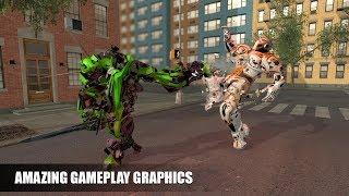 Ninja Warrior Robot Transformation Robot Wars (By White Sand - 3D Games Studio) Gameplay HD