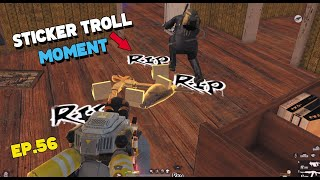 MONTAGE KILL HIGHLIGHTS ep.56 | Sticker TROLL MOMENT | 1 vs all (ROS MONTAGE)