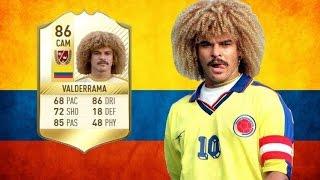 FIFA 17 - Carlos Valderrama - Legend Review