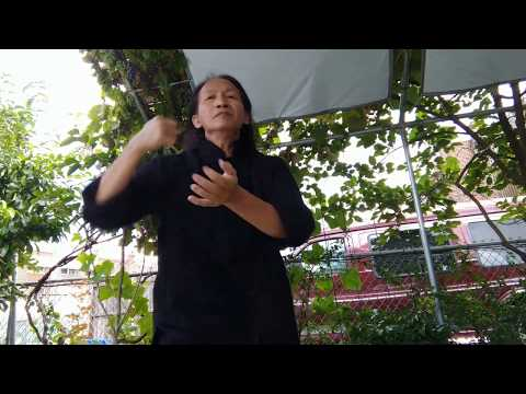 Pan Jia Kung Fu 潘家神拳 - Upper body showing outdoor set in the driveway