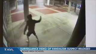 VIDEO: Bowie high shattered windows exposed asbestos, suspect sought