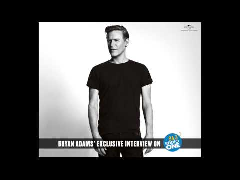 Bryan Adams Exclusive Interview on 94.3 Radio One